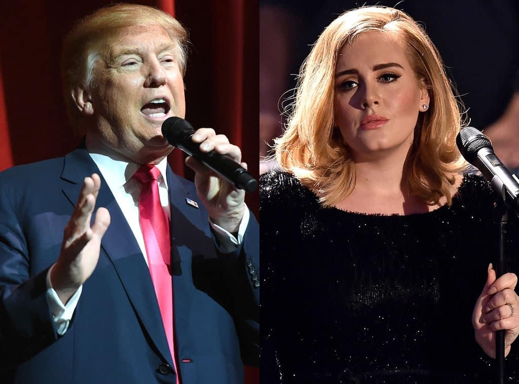 Adele interdit à Trump l'utilisation de ses chansons