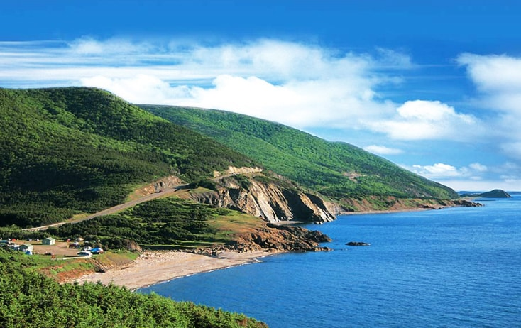 La piste Cabot au Cap-Breton