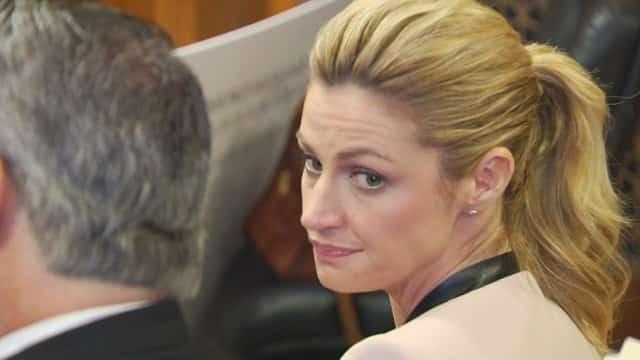 Erin Andrew's lors du procès