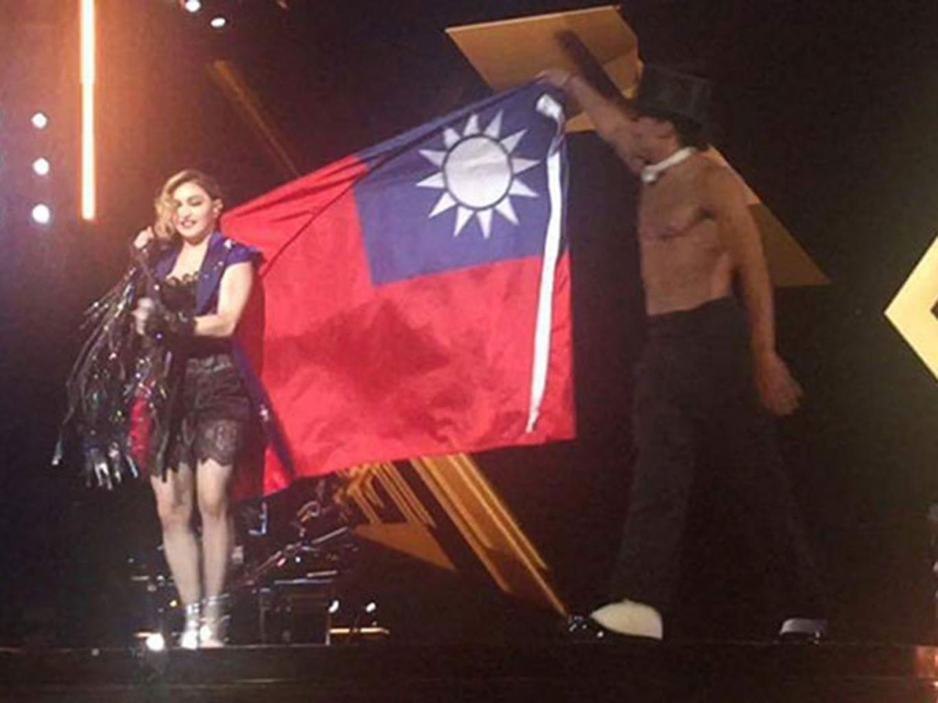 Madonna déclenche une tempête sur l'internet
