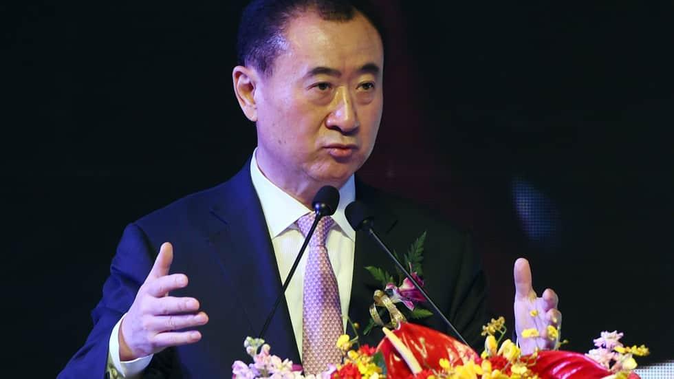 Wang Jianlin, le Chinois le plus riche au monde, le 16 juillet 2015 à Pékin Photo AFP