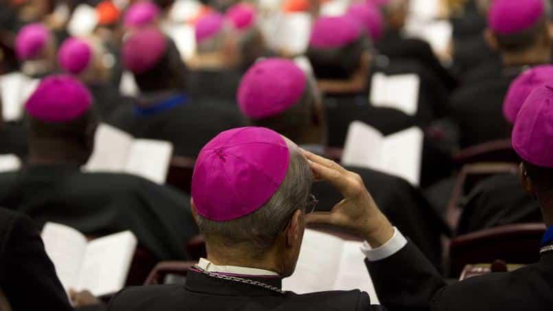 en cas d'abus de prêtres sur mineurs, les évêques ne sont pas tenus de contacter la police