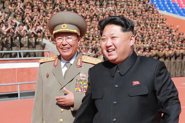 photo kim jong et chef des armées