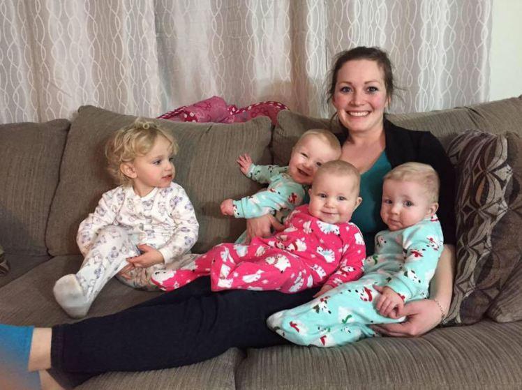 une canadienne vous montre comment habiller 4 enfants