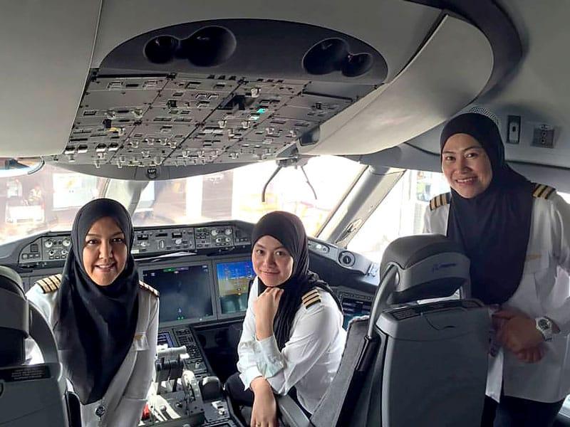 équipage femmes
