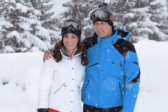 Le prince William et son épouse Kate. Photo AP