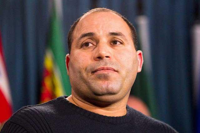 """Mohamed Harakat"""" Photo La presse Canadienne"""