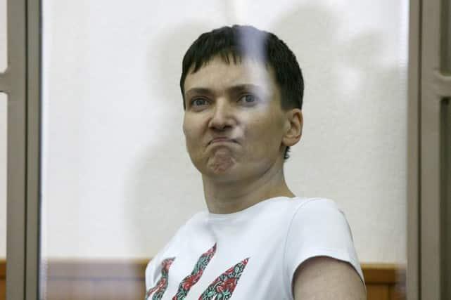 Nadia Savtchenko, devenue une héroïne nationale en Ukraine