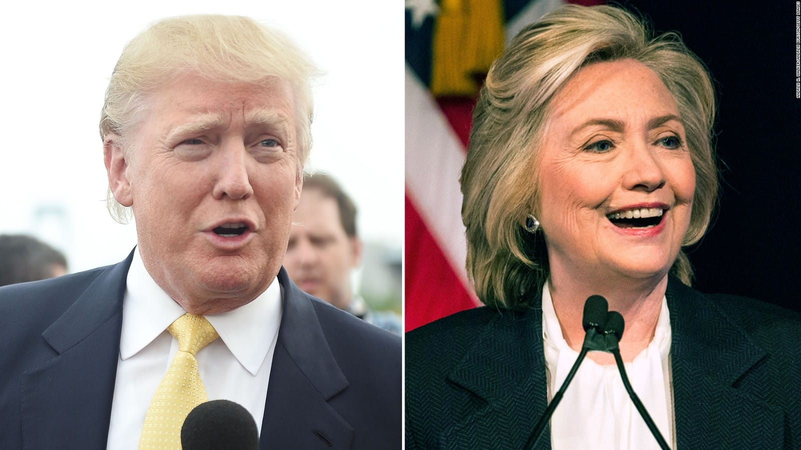 Trump et Clinton écrasent leurs rivaux