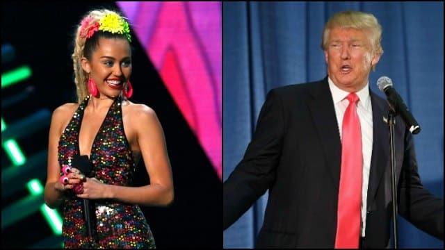 miley VS Trump