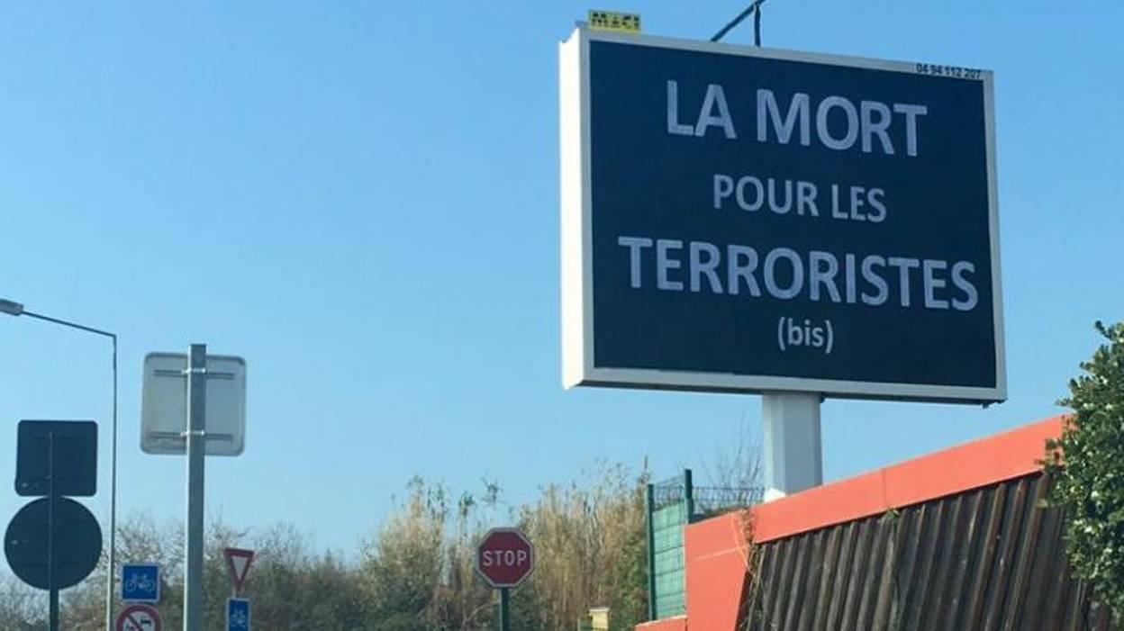 pub mort pour les terroristes
