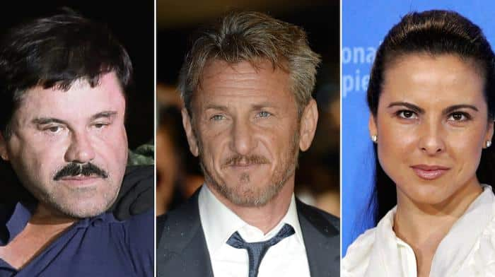 El Chapo, Sean Penn et Kate del Castillo