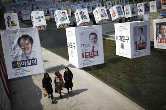 Corée-du-Sud-élections
