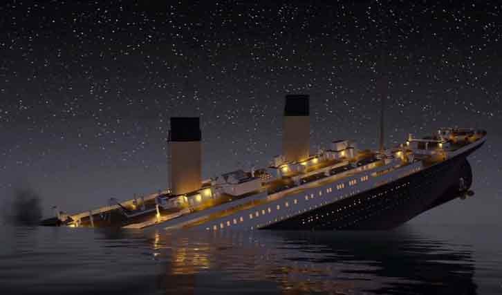 Titanic-naufrage