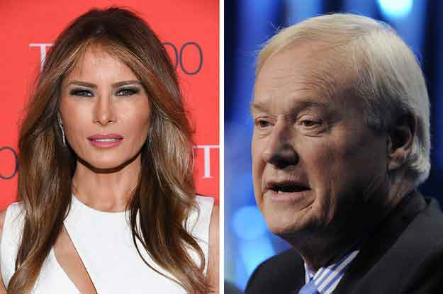 Chris-Matthews-melania-trump
