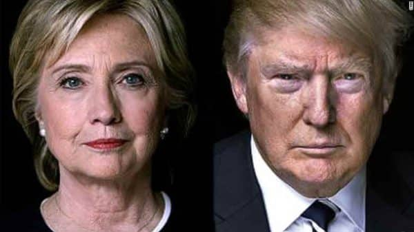 Hillary-Clinton-et-Donald-Trump