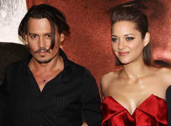 Johnny-Depp-et-Marion-Cotillard