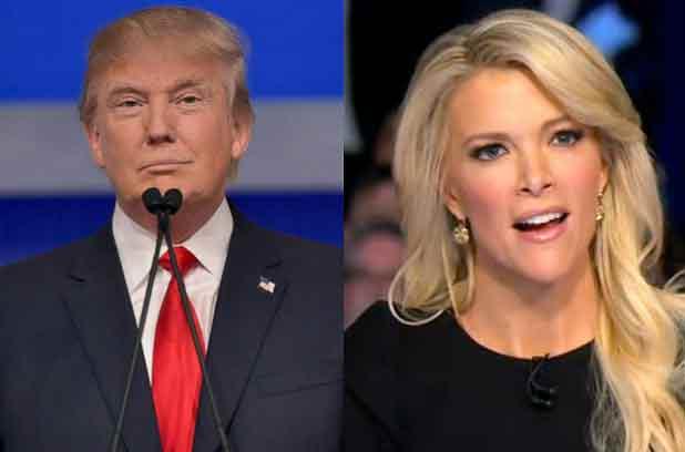 Megyn Kelly et Donald Trump