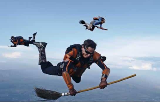 Quidditch air
