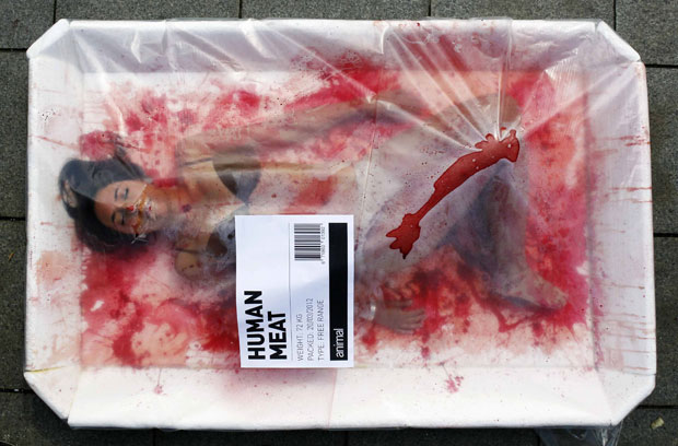 carne humana 0