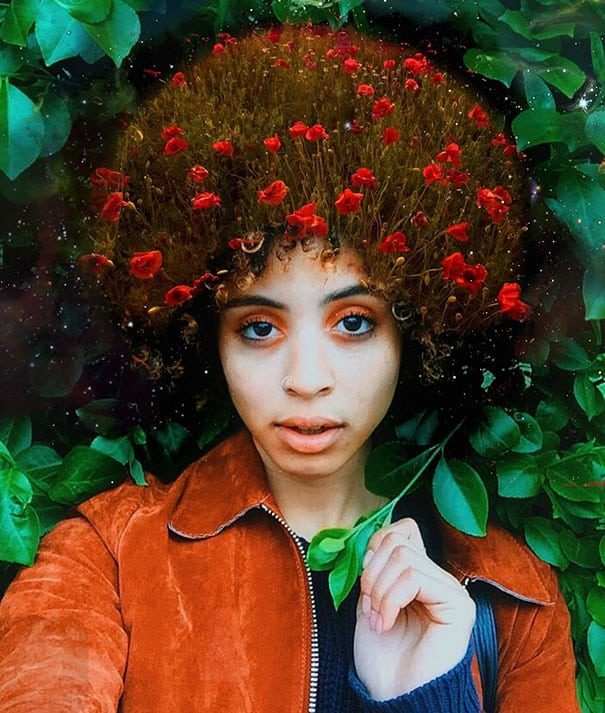 cheveux afro 8