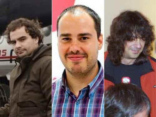 Les journalistes indépendants Angel Sastre, Antonio Pampliega et Jose Manuel Lopez ont été libérés.