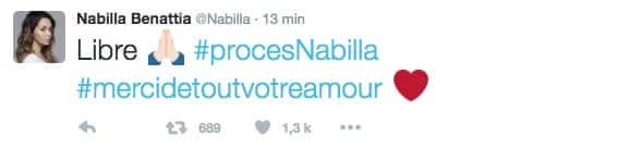 nabilla tweet 2