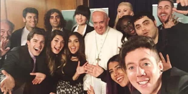selfie pape youtube
