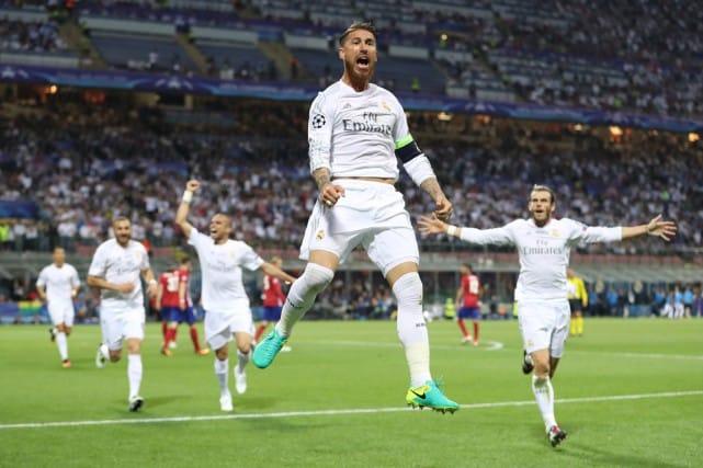 Sergio Ramos a joué un rôle important dans la victoire du Real. Photo REUTERS