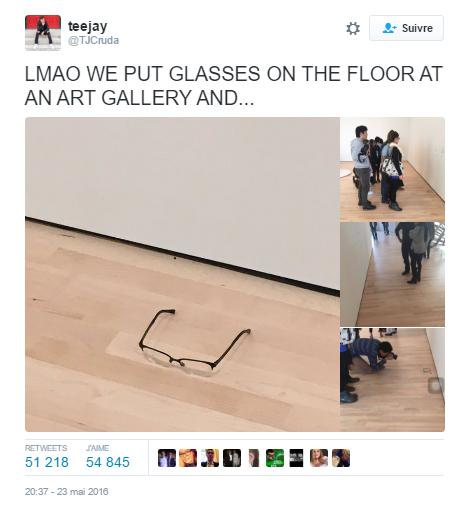 tweet lunettes galerie