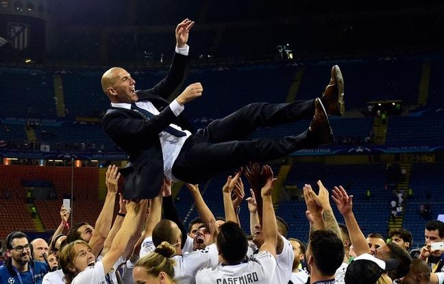 zidane victoire