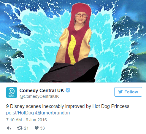 hot dog comedy