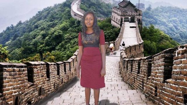 kenyane photomontage