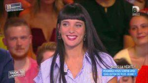 Erika Moulet durant l'émission du 7 juin 2016