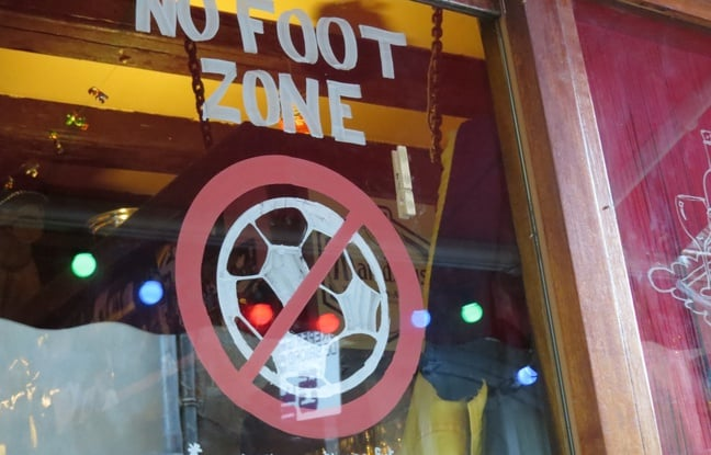 no foot zone