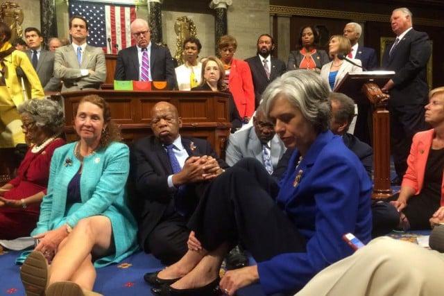 sit in congres