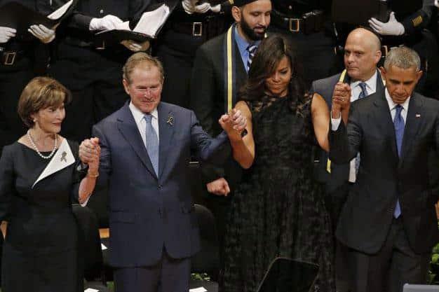 Bush danse