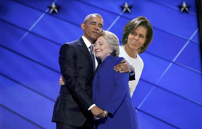 Hillary Clinton et Obama 10