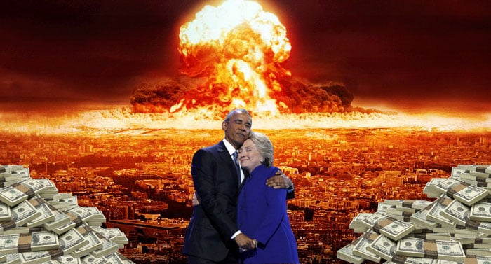 Hillary Clinton et Obama 6