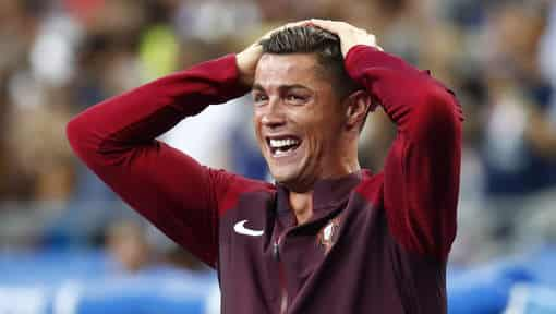 Cristiano Ronaldo. Photo Reuters