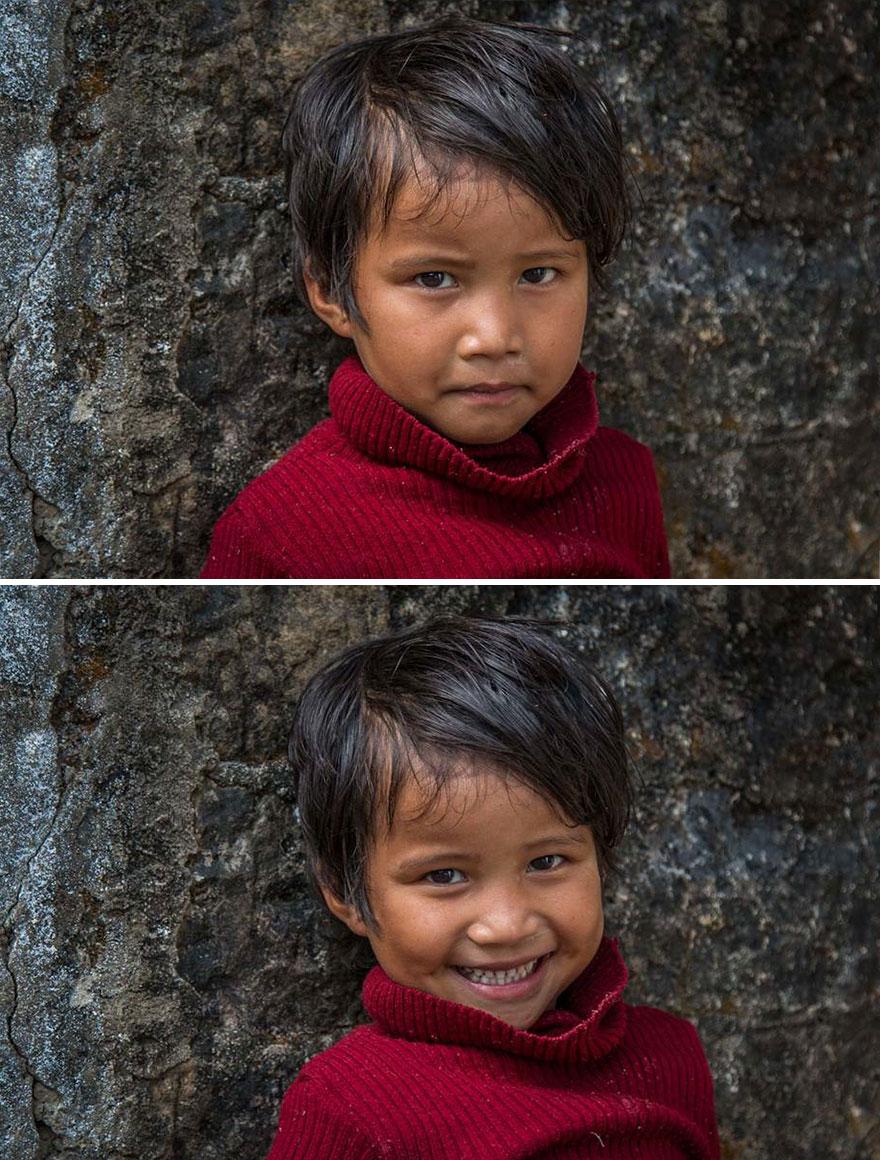 etrangers sourire 6