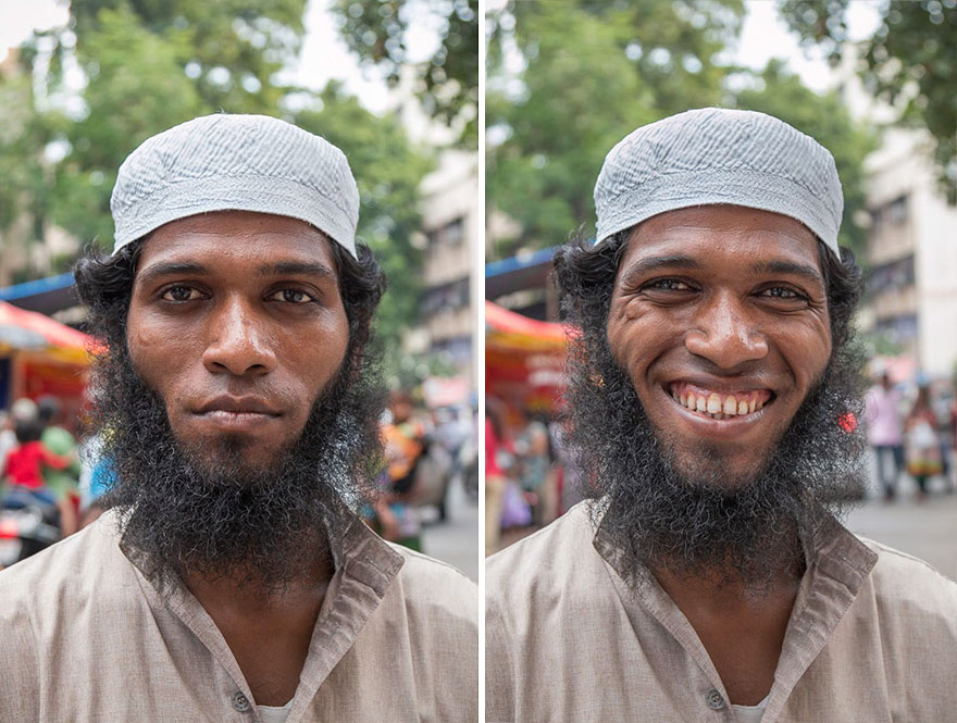 etrangers sourire 9