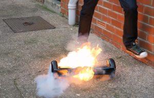 hoverboards feu