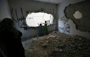 maison detruit palestine