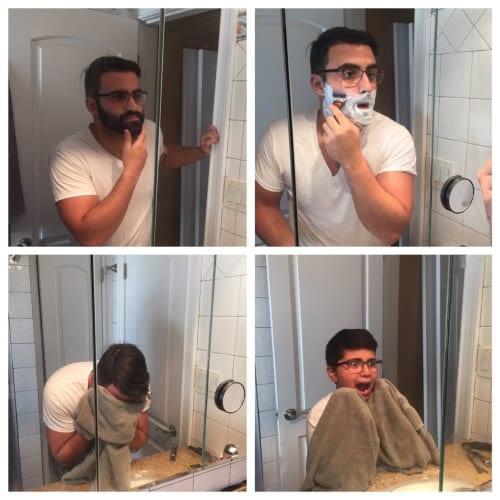 sans barbe