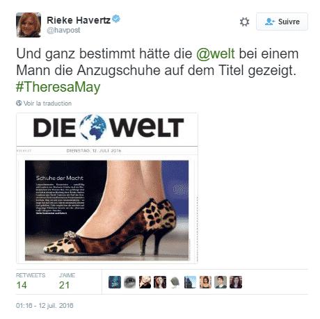 tweet chaussures 2