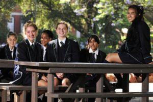 L'« École secondaire pour filles de Pretoria »