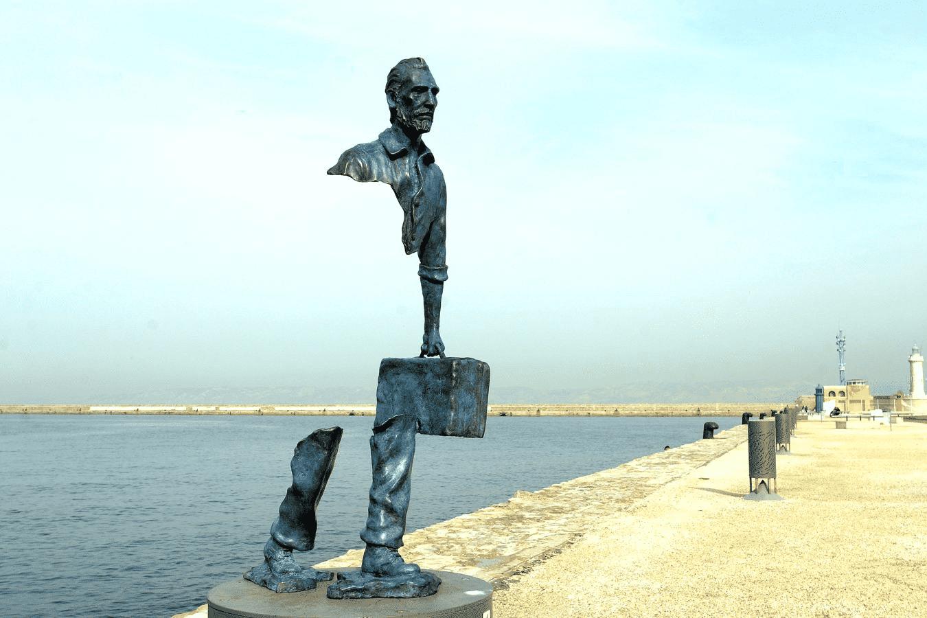 Les Voyageurs, par Bruno Catalano