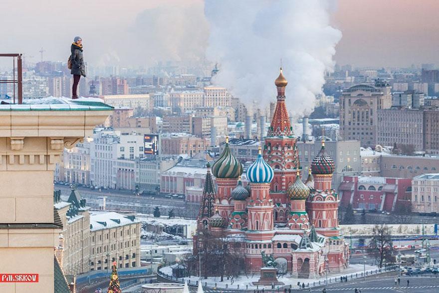 Les selfies russes 11