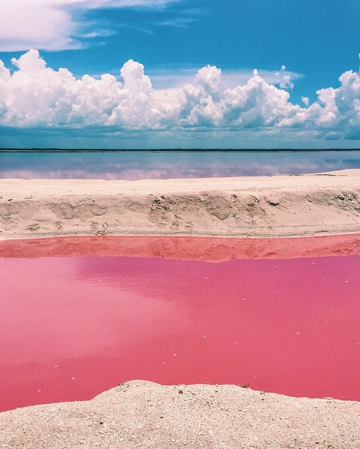 Mexico's pink lagoon 2